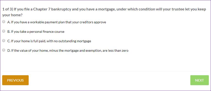Finance Lab Pop Quiz